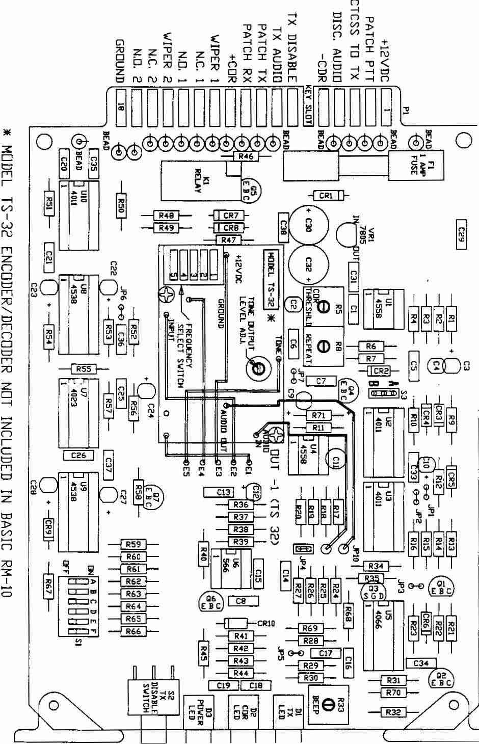 Misc Tech Info Xenon Strobe Circuit Repeater Maker Schematic